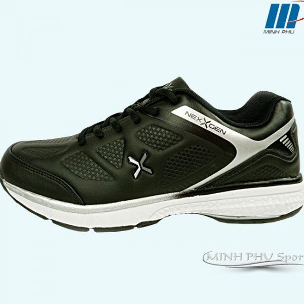 giày tennisNexgen NX-17541 đen bạc