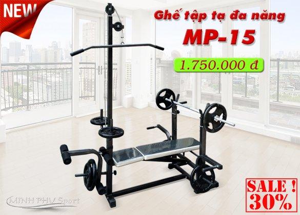 Ghế tập tạ Mp-15