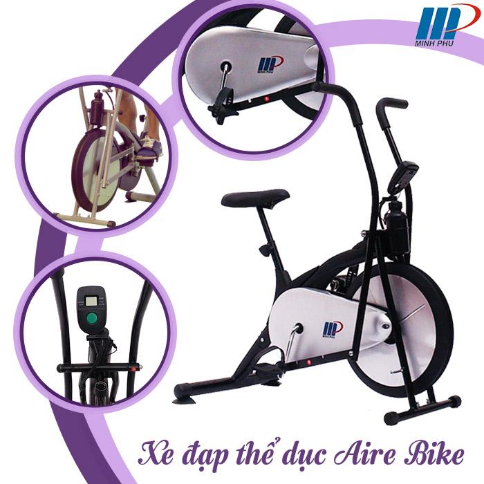 Tính năng xe đạp tập Air Bike