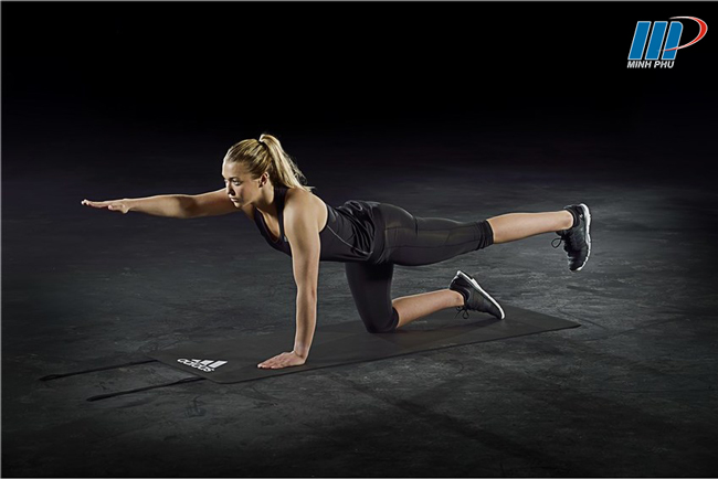 Thảm tập thể dục Adidas ADMT-12234GR (4)