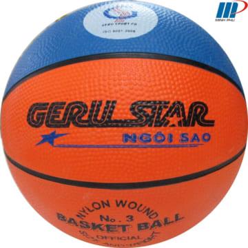 quả bóng rổ cao su 2 màu số 3