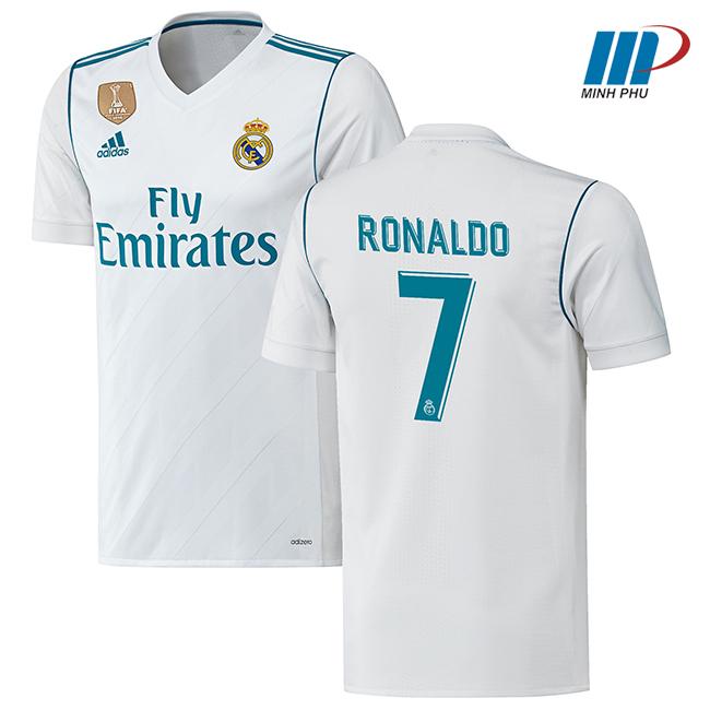 áo bóng đá real 2017-2018