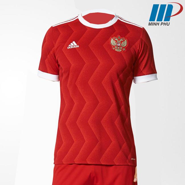 Quần áo bóng đá đội tuyển Nga 2017-2018