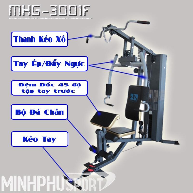 Giàn tạ đa năng MHG-3001F