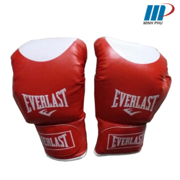găng tay Boxing Everlast đỏ