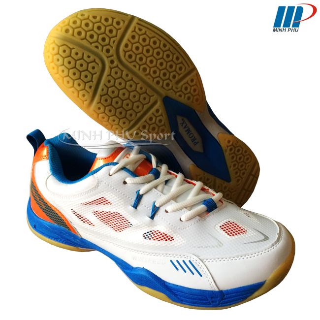 Giày cầu lông PRF-02 trắng cam