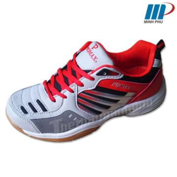 giày cầu lông PR-12830 ghi đỏ