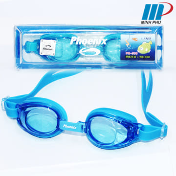Kính bơi Phoenix PN-506-1 màu xanh