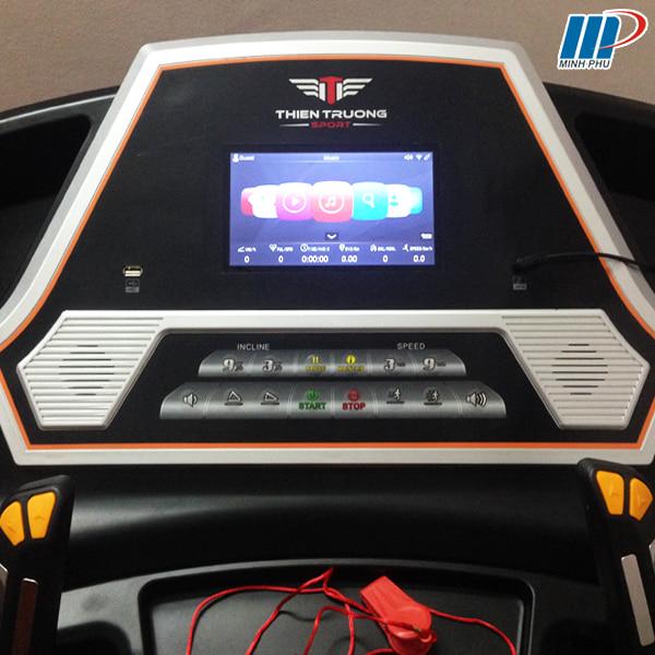 Máy chạy bộ điện HQ-555 màn hình