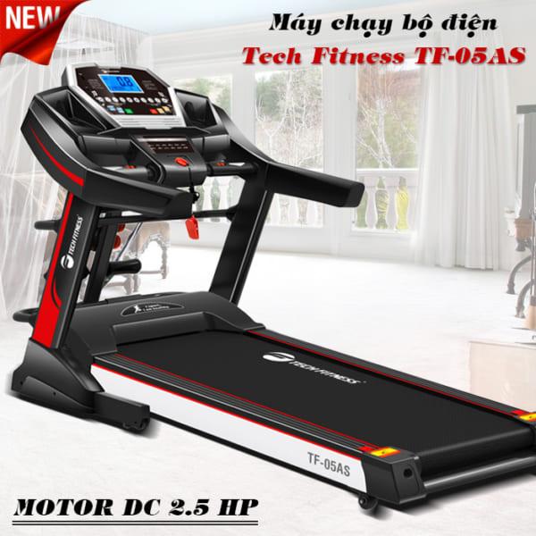 Máy chạy bộ điện Tech Fitness TF-05AS