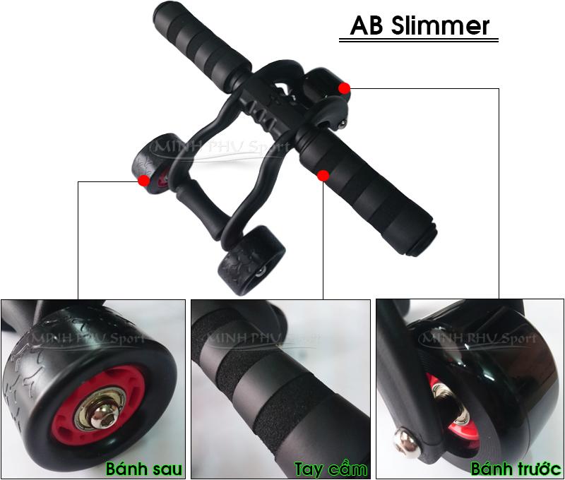 Thông tin sản phẩm con lăn tập bụng AB-Slimmer