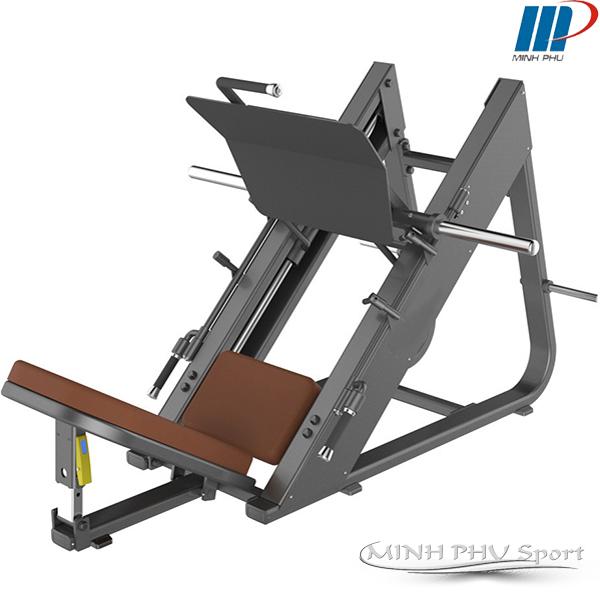 Máy tập Gym tập đạp chân đùi nghiêng 45 độ 1039