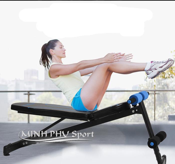 Tập cơ bụng với Ghế tập gym đa năng JN-Y09