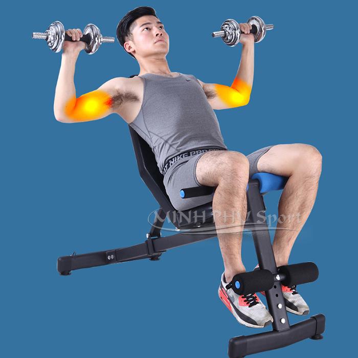 Tập tạ với ghế tập gym đa năng JN-Y09