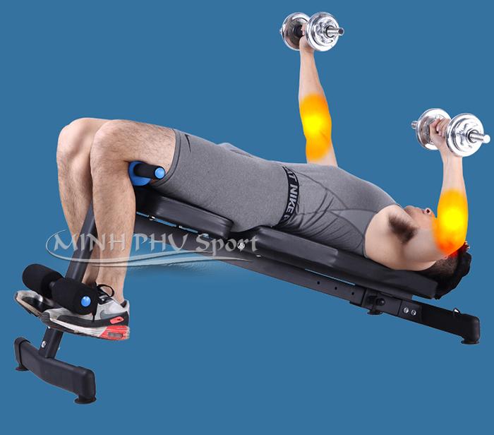 Tập tay với ghế tập gym đa năng JN-Y09