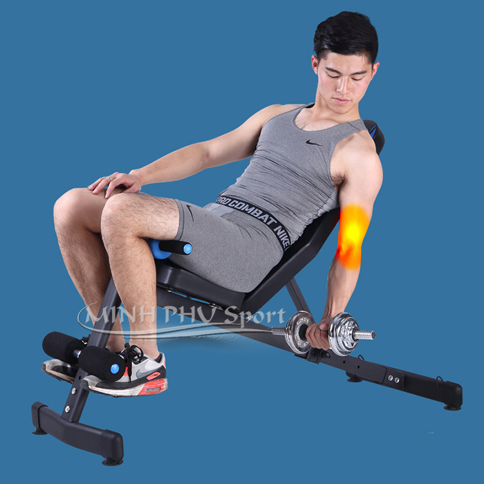 Tập bắp tay với ghế tập gym đa năng JN-Y09
