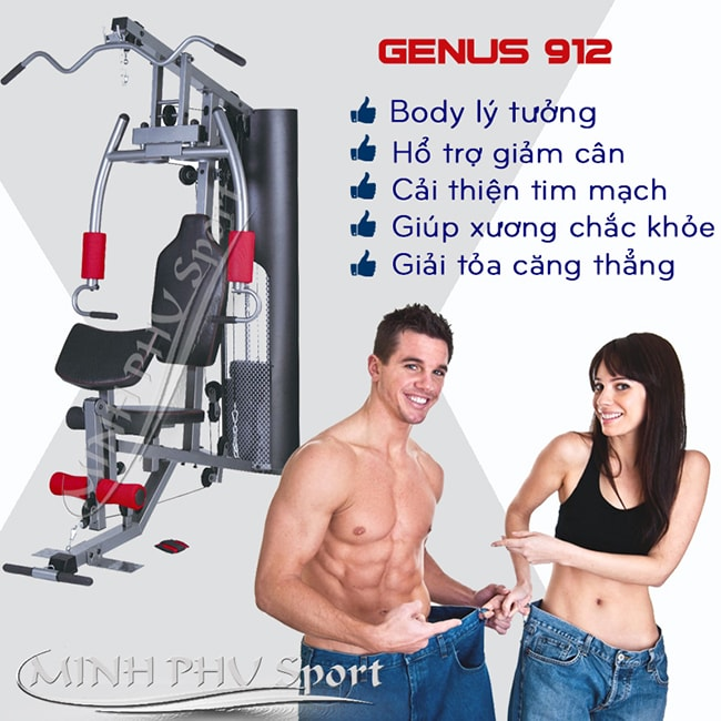 Các loại máy tập đa năng tốt nhất thị trường hiện nay