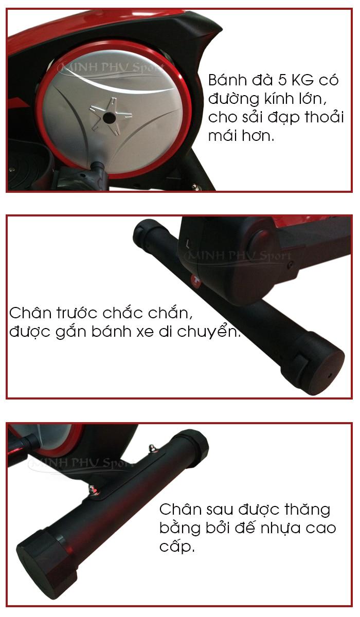 Xe đạp tập thể dục Viking VK-8601HA chi tiết