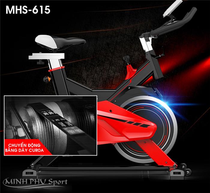 Dây curoa xe đạp tập thể dục MHS-615