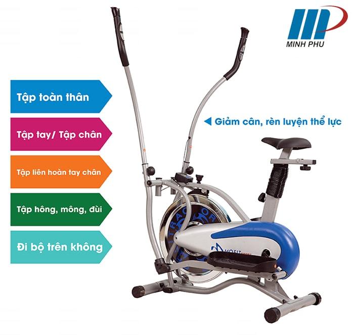 Xe đạp tập toàn thân MO-2081