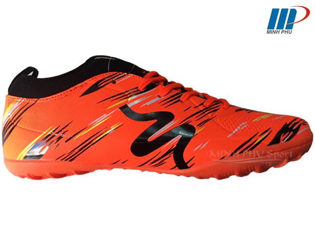 Giày bóng đá Mitre MT-160930 cam đen