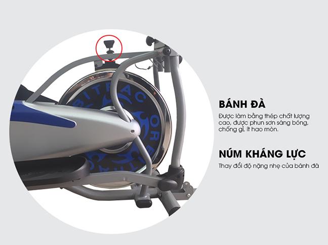 Xe đạp tập toàn thân K2085 _ Bánh đà