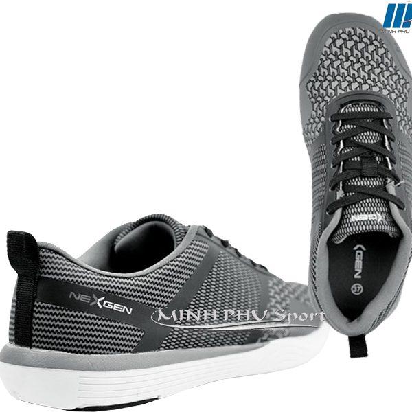 giày thể thao nexgen ergofit xám đen