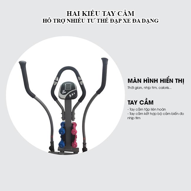 Xe đạp tập toàn thân K2085 - tay cầm