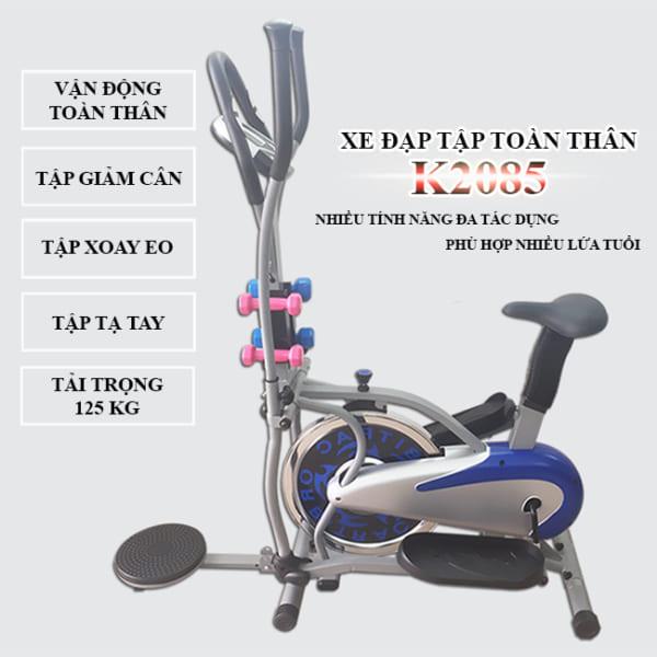 Xe đạp tập toàn thân K2085