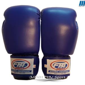 Găng đấm boxing FBT xanh