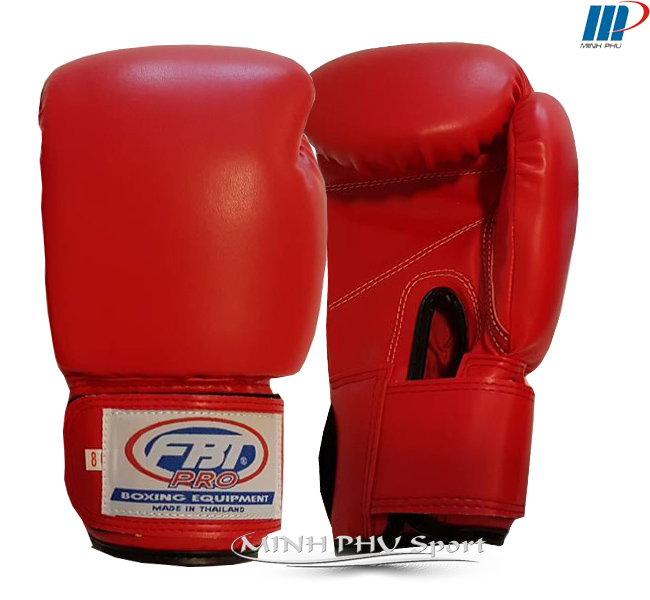 Găng đấm boxing FBT đỏ