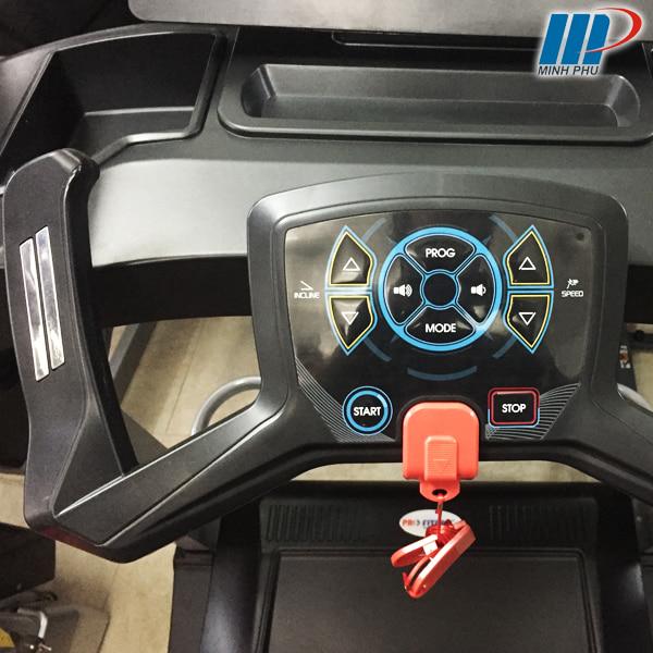 Máy chạy bộ điện Pro fitness PF-117D điều khiển