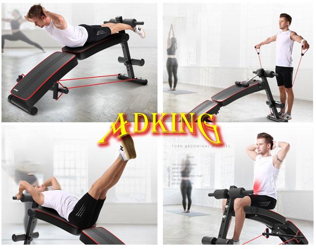 Bài tập Ghế tập cơ bụng ADKing AD-178
