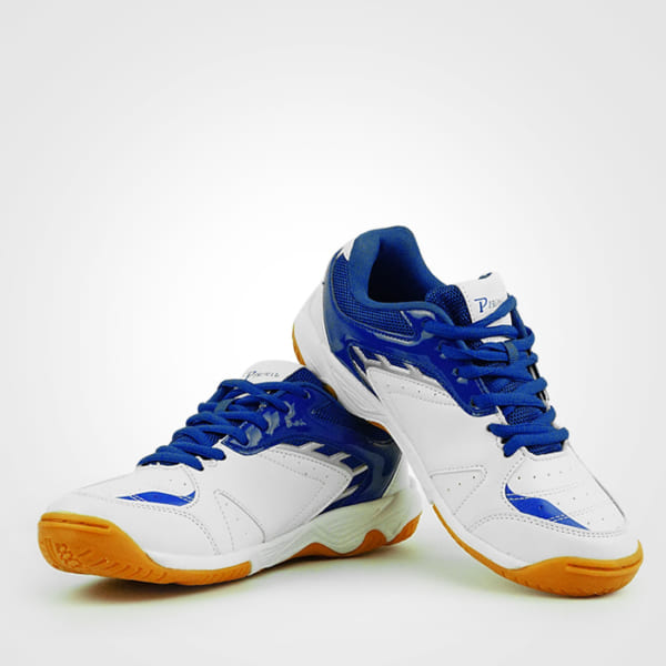 Giày cầu lông PR-17011 trắng xanh bích