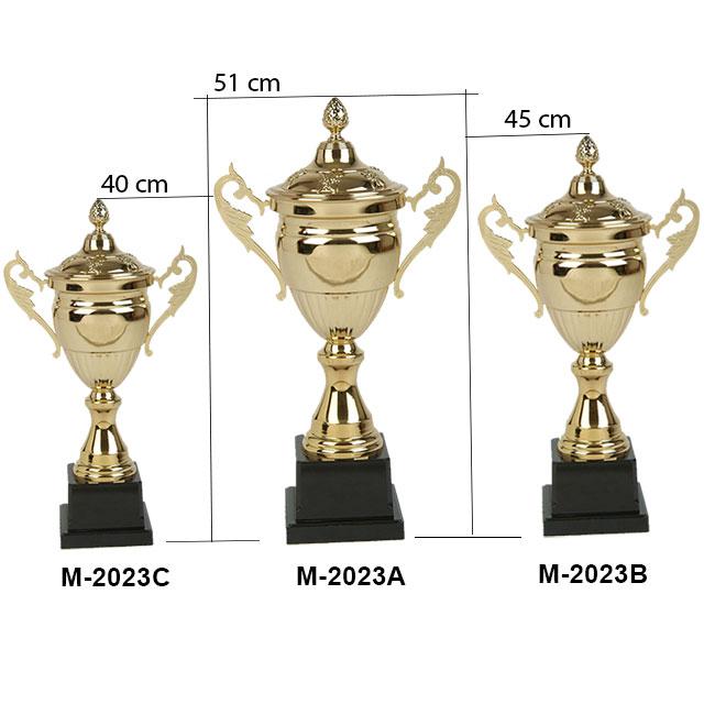 Kích thước cúp kim loại cao cấp M-2023