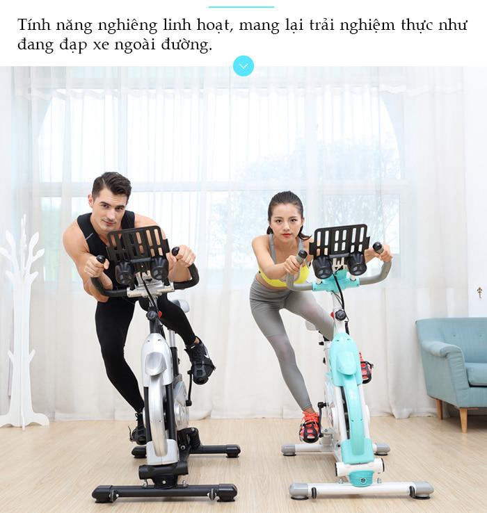 Xe đạp tập thể dục SP500 nghiêng