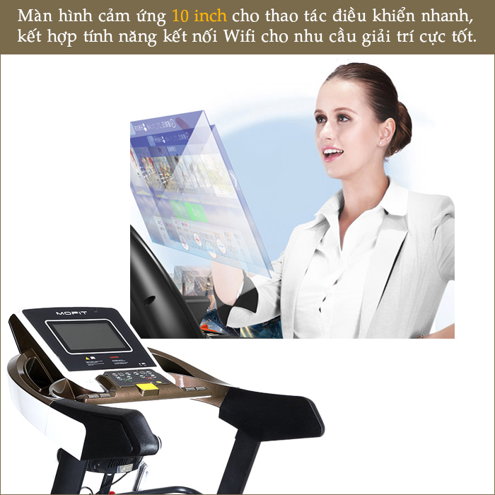Máy chạy bộ điện MOFIT SP610 màn hình