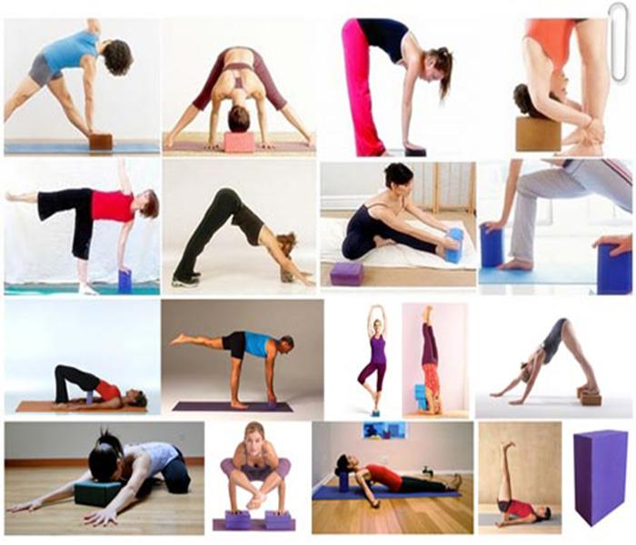 bài tập gạch gối yoga