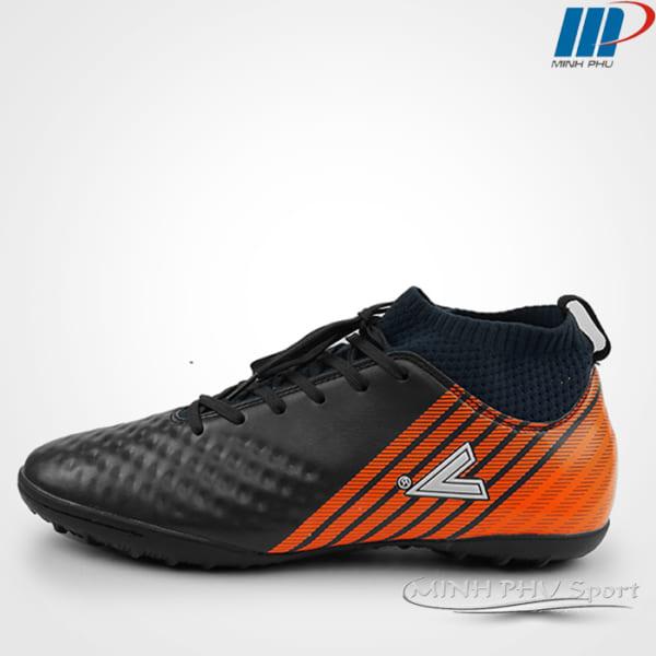 Giày bóng đá mitre MT-170434 đen cam
