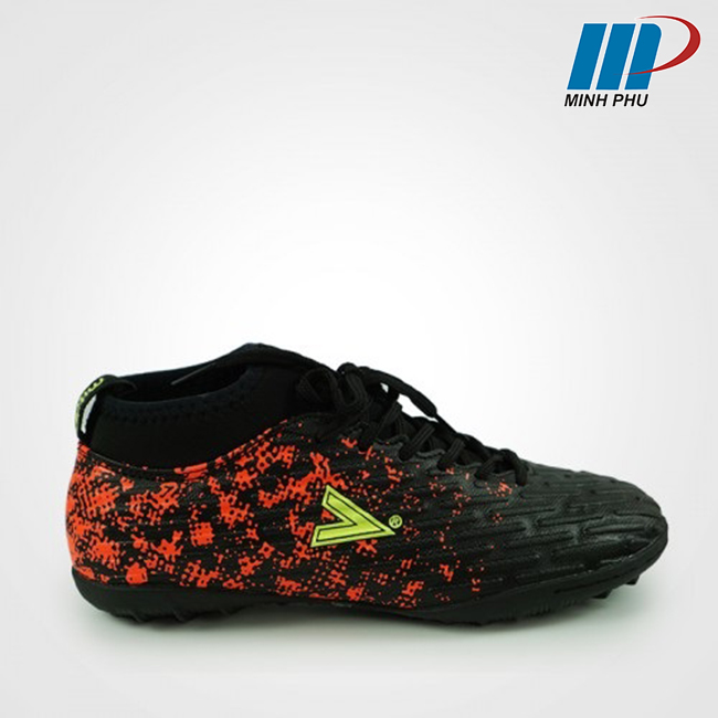 giày bóng đá Mitre MT-170501 đen cam
