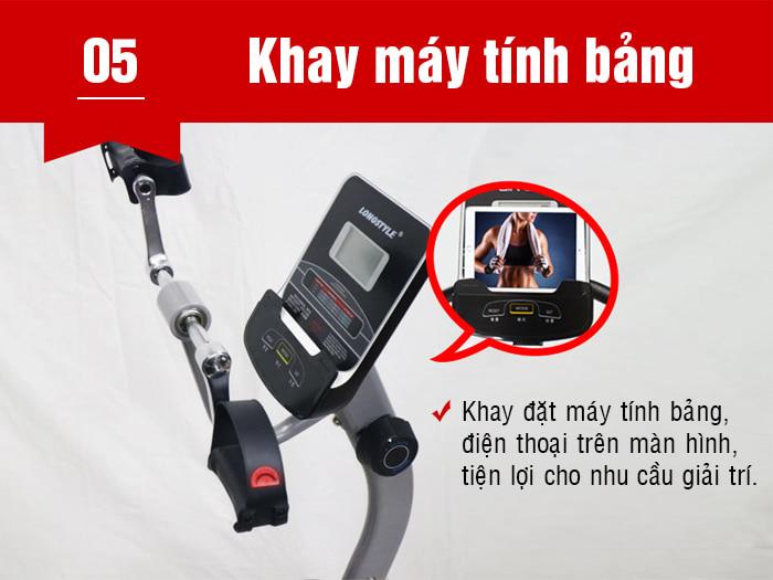 Xe đạp phục hồi chức năng BC-51013 khay ipad