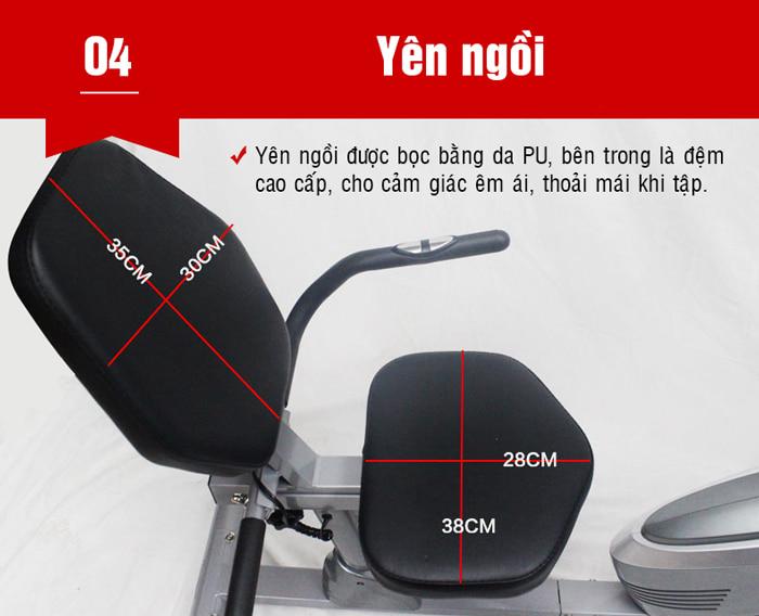 Xe đạp phục hồi chức năng BC-51013 yên ngồi