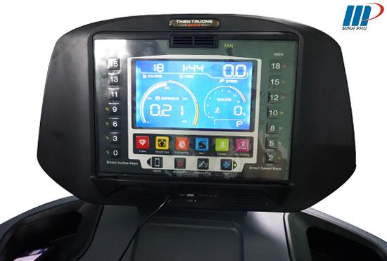 máy chạy bộ điện HQ-V6C màn hình