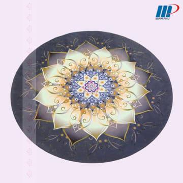 thảm yoga hình tròn Padma 5D