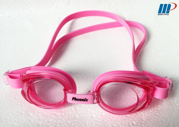 kính bơi Phoenix PN-506 hồng