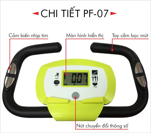 xe đạp tập thể dục Pro Fitness PF-07 - đồng hồ