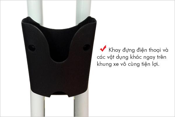 xe đạp tập thể dục Pro Fitness PF-07 - khay