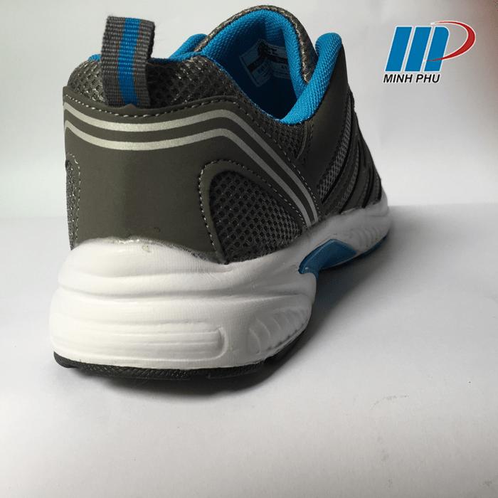 Mặt sau giày thể thao EBET 123 Xanh Xám