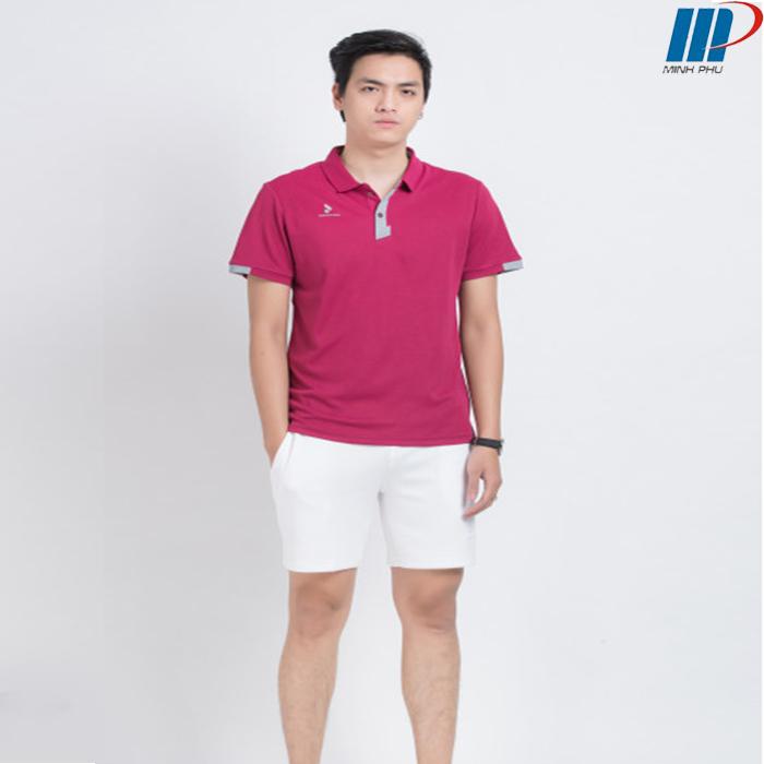 Áo Thể Thao NamMC-8978 Đỏ Đô