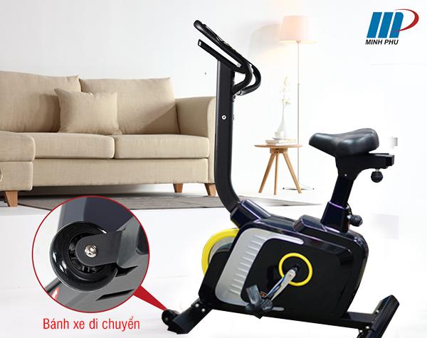 bánh xe di chuyển cửa xe đạp tập thể dục DLE-42811B